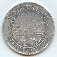 So-Called #640 1897 New Bedford MA (#8119) 50th Anniversary Aluminum Very Scarc