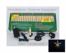 LED Baumkerzen Stern Innen Lichterkette keine Batterien Weihnachten Tannenbaum