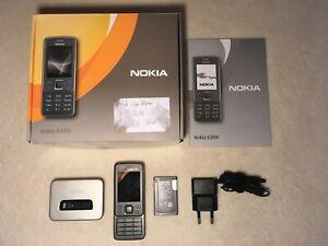 Nokia  6300i - Graphite Handy - Mobiltelefon