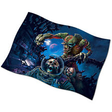"""Iron Maiden Flag Banner 28"""" New Speed of Light Fear of the Dark The Trooper"""