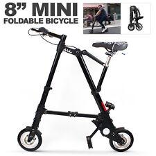 "8"" Mini Aluminum Alloy Travel Lightweight Portable Folding Bike Foldable Bicycle"