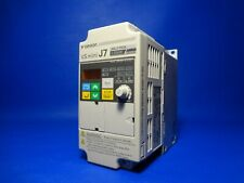 Omron CIMR-J7AZ20P7 New No Box VS Mini J7 3 Phase 0.55 KW