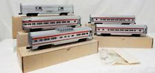 Williams Trains 1970s Golden Memories SANTA FE red stripe 5 Car Passenger Set