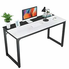 "Foxemart 47 Inch Computer Table Sturdy Office Desk, Modern PC Laptop 47"" Writi"