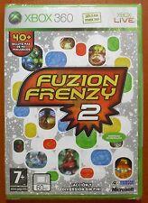 Pal version Microsoft Xbox 360 Fuzion Frenzy 2