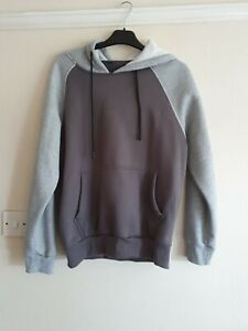 Gildan - Mens Grey Plain - Pullover Hooded Heavy Blend Sweatshirt - Small
