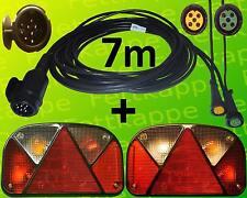 Aspöck Multipoint 2 - Leuchten Set - 13polig - 7m Kabelbaum mit 2 x 4,7m Abgang