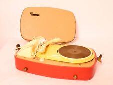Perpetuum Ebner PE Musical 2V Plattenspieler tube radio record player 3 DS 510 ,