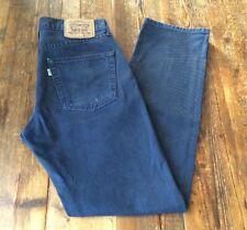 LEVIS 551 NEEDLECORD W30 L32 MEN'S BLUE STRAIGHT LEG