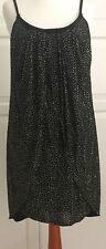 Versace for H&M Kleid Schwarz m. Goldnieten dress EUR 36 size US 6 UK 10 neu new