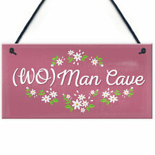 Her Man Cave Sign Funny Bedroom SummerHouse Plaque Gifts For Women Gifts