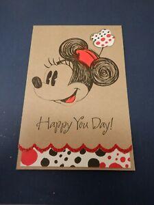 Minnie Mouse Disney Birthday Greeting Card American Greetings New HC2797
