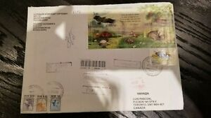 RUSSIAN NICE REGISTERED COVER TO CANADA