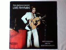 PAUL SIMON In concert - Live rhymin' lp USA GARFUNKEL