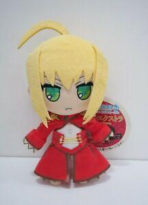 "Fate / EXTRA Saber Nero Claudius Nendoroid Gift Type Moon Plush 11"" Toy Japan"