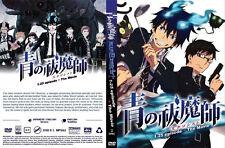 DVD ANIME Blue Exorcist Vol.1-25 End +Movie English Dubbed All Region + FREE DVD