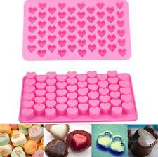 Moule 3D Cœur Silicone Fondant Gâteau Chocolat Biscuit Outil DIY Amour Cadeau NF