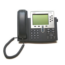 Lot of 5 Cisco 7962 CP-7962G Unified IP VoIP Gigabit Phones LCD Display