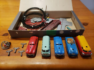 Schuco Varianto lot - 5 cars and pieces