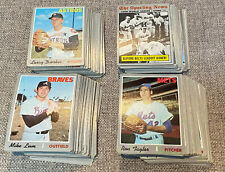 1970 Topps Baseball Cards -- Complete Your Set -- $2.49 a Card & FREE SHIPPING