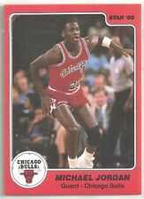 1985-86 Star Company Chicago Bulls 7-card Team Set   Michael Jordan