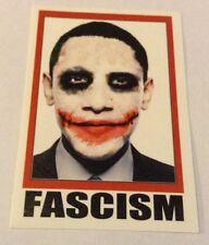 Autocollant/Pegatina/Sticker/Glossy: Obama/ Fascism/President Barack Obama
