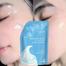 Salicylic Acid Ultra Cleansing Ice Cream Green Tea Face Remove Acne Blackhead