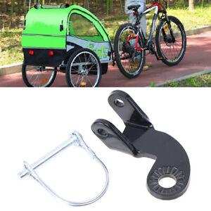 Bike Cycling Trailer Coupler Hitch Replacement Connector Part w/Screw For Bur.ji