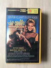 De Gulle Minnaar Big Box Ex-Rental  Vintage VHS Tape Dutch NL Film Videoband