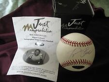 2004 MIGUEL CABRERA AUTOGRAPHED MLB BASEBALL JUST MINORS AUTHENTICATED 220/245