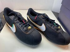 "Nike Cortez Basic Leather SE ""Day of the Dead"" CT3731-001 Men's Size 9.5"