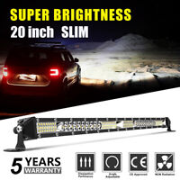 "20"" 168W barre de led light bar 10-30V Offroad Phare de travail 4x4 Singal Rampe"