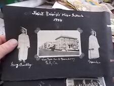 1922-24 SNAPSHOT PHOTO LOT, GIRLS OF SAINT BRIGID'S HIGH SCHOOL, SAN FRANCISCO