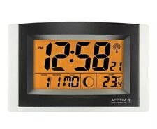 Acctim Strato Smartlite Wall/Desk Clock With Alarm & Snooze 74657 New With Box