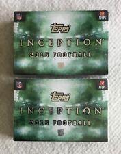 (2) 2015 Topps INCEPTION Football HOBBY BOX Lot / GURLEY Johnson MARIOTA Gordon