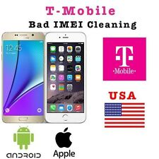 T-Mobile BAD IMEI Cleaning( Lost / Stolen / EIP) [iPhone, Samsung, HTC, LG, etc]