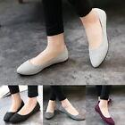 Women Ballet Ballerina Flats Loafers Casual Glitter Slip On Single Shoes Slipper