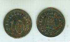 10 penique 1917 Speyer hierro.