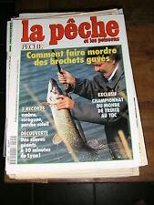 La pêche et les poissons N° 594 Borchets gavés Trute au toc Silures géants Lyon