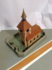 H0 Pola 607 Kirche mit Mauer, gebaut, siehe Bilder ( 32/019)