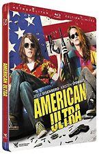 AMERICAN ULTRA blu ray Steelbook  ( NEW )