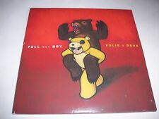 Folie à Deux by Fall Out Boy Vinyl 2008 2 LPs Color Vinyl 1Orange/1Red+PosterNEW