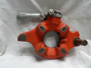 "Ridgid No. 500 1"" Pipe Die Head ""No Dies"""
