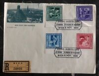 1936 Vienna Austria First Day Front Cover FDC  Urania Stamp exhibition
