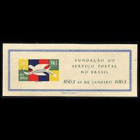 Brazil, Sc, #951, MNH, 1963, S/S, Brazilian Postal Service, SAIAS8P-A