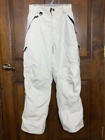 Turbine Mens Medium Ski Snowboard Pants - Off-White