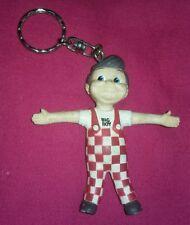 Bob's/Frisch's Big Boy Keychain VINTAGE Bendable/posable Soft rubber 3D Figurine