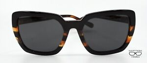Coach HC8217 544387 Brown Tortoise Sunglasses New Authentic 57