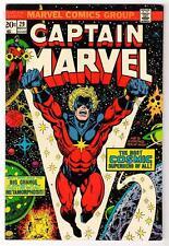 Marvel Comics  CAPTAIN MARVEL VFN 8.0 High   #29  THANOS STORY avengers