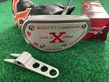 WOW RARE SCOTTY CAMERON RED X X2 CENTER SHAFT PUTTER 33 INCH + DIVOT + BALLS +HC